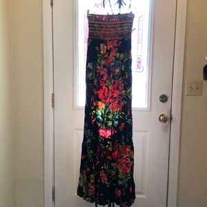 Maxi dress, colorful